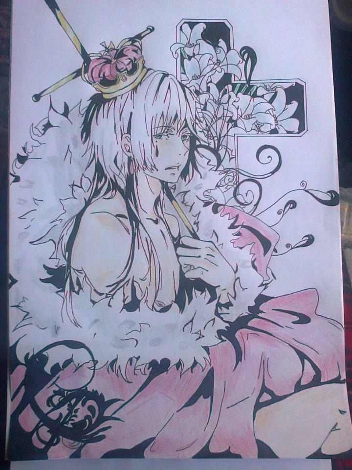 Dibujo de Charles Grey, Kuroshitsuji.