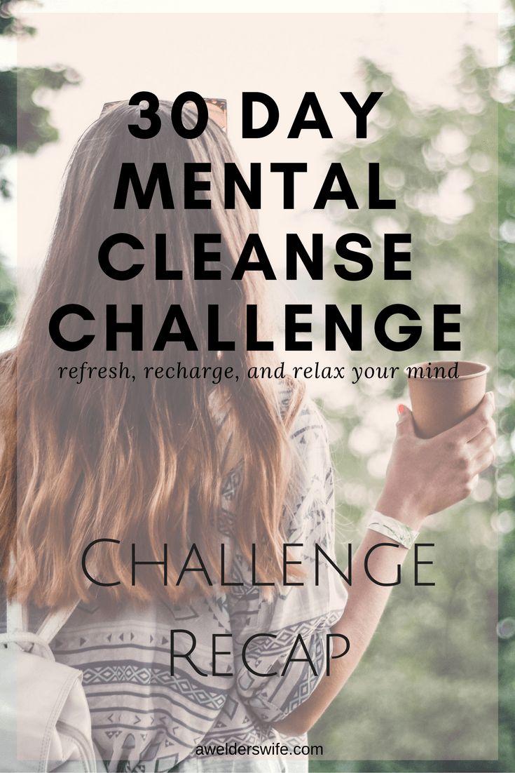Mental Cleanse: Recap | www.awelderswife.com
