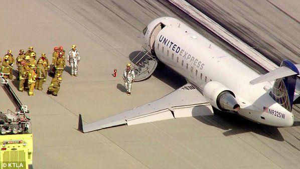 Caught On Video: SkyWest Airlines Flight 5316 emergency landing after gear fails. https://www.youtube.com/watch?v=BjAk95d5GGc