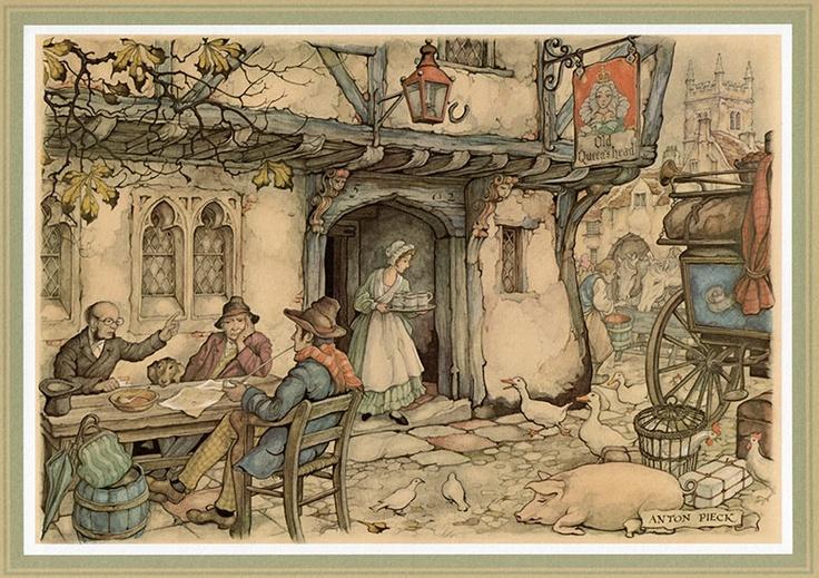 Anton Pieck [JPEG et BMP] | Le Jardin des Délices