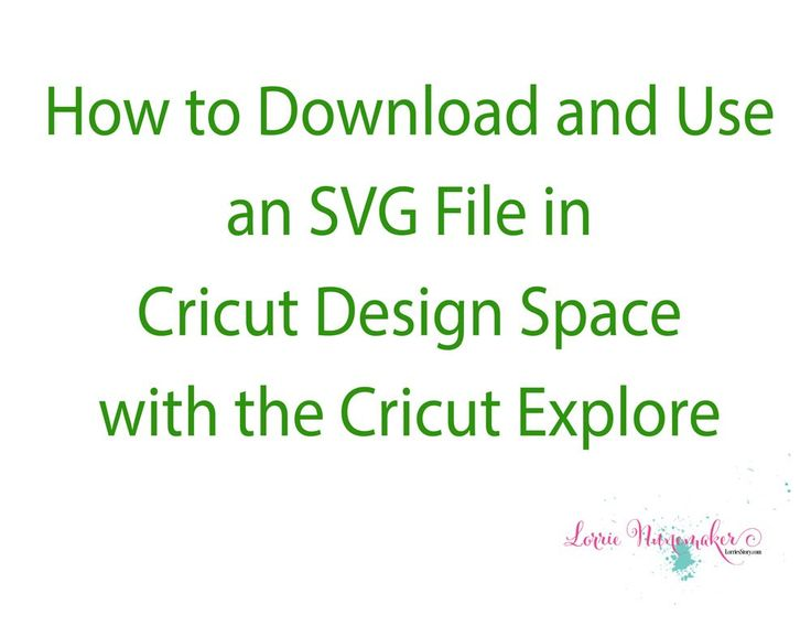 How to download and use an SVG in Cricut Design Space - YouTube