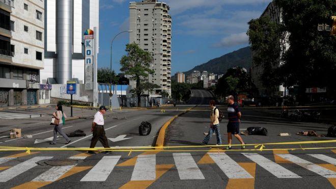 Diario En Directo: Venezuela vive su primer paro general de 24 horas ...