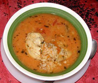 W Mojej Kuchni Lubię.. : zupa pomidorowa na piersi kurczaka z czosnkiem nie...