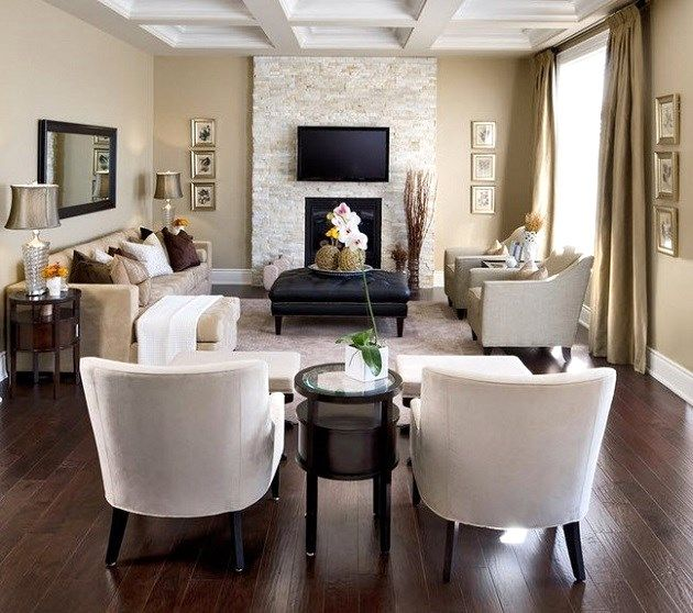 Neutral and cozy living room | Celebrations at Home