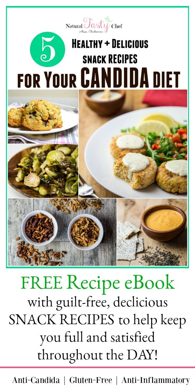 5 Healthy and Delicious Candida Diet Snack Recipes   Candida Diet