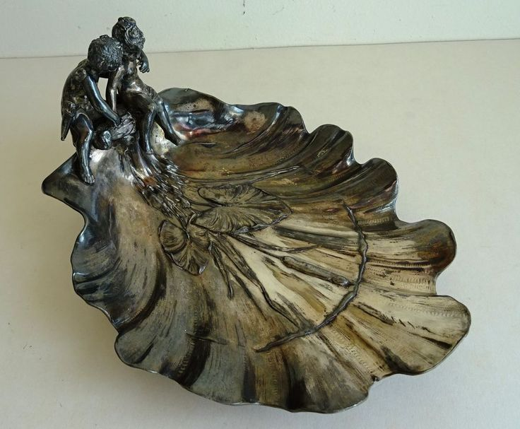 JUGENDSTIL  ART NOUVEAU Visitenkartenschale um 1900 Vollplastisch    eBay