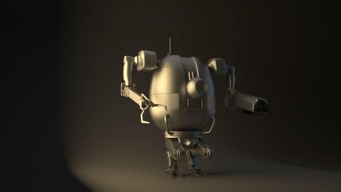 Robot PBR   Galleries   Character