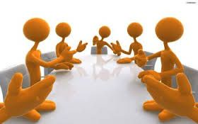 To convene - if a group of people convene, or someone convenes them, they come together, especially for a formal meeting.