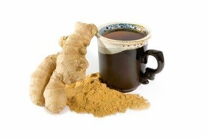 How to Make Ginger Root Tea to boost immune system and settle upset stomache