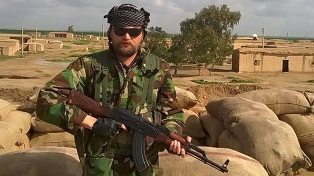"#Media #Oligarchs #MegaBanks vs #Union #Occupy #BLM #Rojava  This American Fought ISIS. Now He's Trying to Get Washington to Untangle Its Syria Policy  http://www.motherjones.com/politics/2016/12/turkey-syria-kurds-isis-american-volunteers  ""Obama, Trump, none of them know what's going on over there.""  ""This reminds me of when I was fighting ISIS,"" Robert Amos told me, improbably, one sunny September day as we rode in a white Jeep through the streets of downtown Washington, DC..."