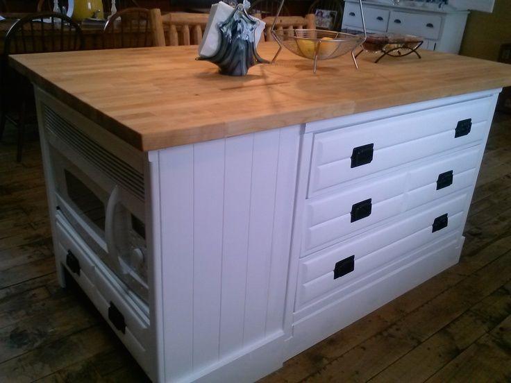 Turn A Dresser Into A Kitchen Island: 1000+ Ideas About Dresser Kitchen Island On Pinterest