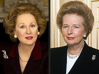 Meryl Streep Plays Margaret Thatcher