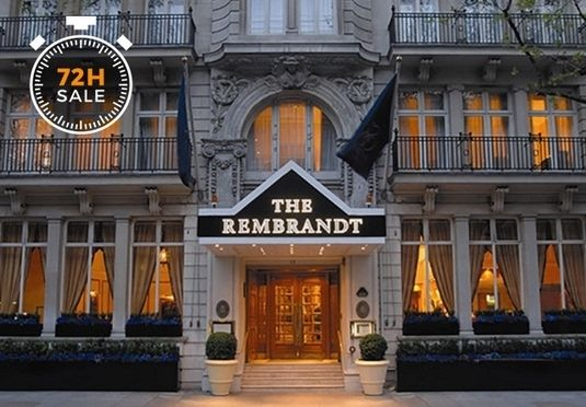 A classic Edwardian hotel in the heart of Knightsbridge, with breakfast and health club access