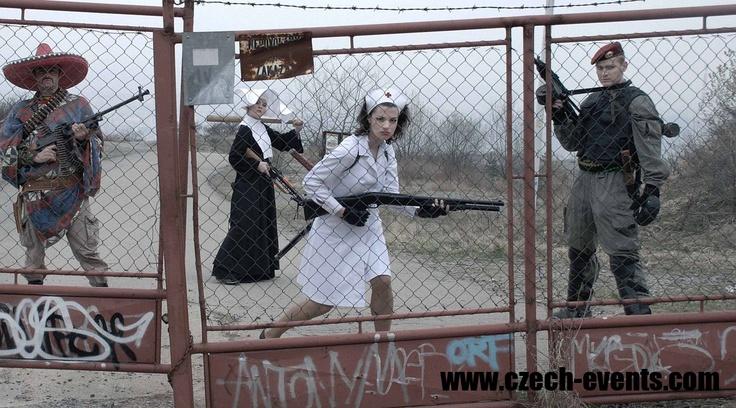 Team building program Survive! The Zombie Apocalypse. www.czech-events.com