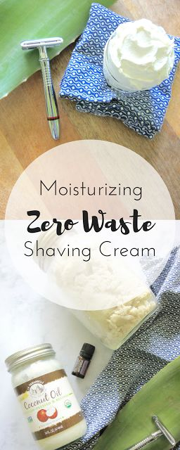 Zero Waste Nerd: Moisturizing Zero Waste Shaving Cream