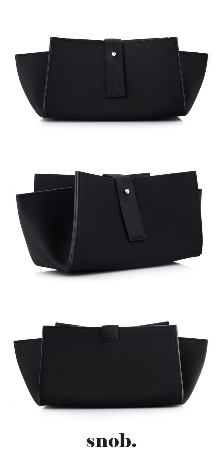 Origami Bag  #recycledleather #clutch #snob #snobdot