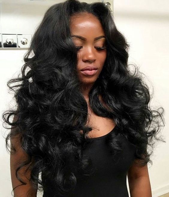 Waves full of body. Get this Look with Mayvenn's Brazilian Loose Wave.