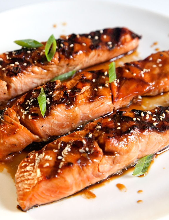 ♥♥ Salmon Teriyaki ♥♥ I need to branch out and try this.