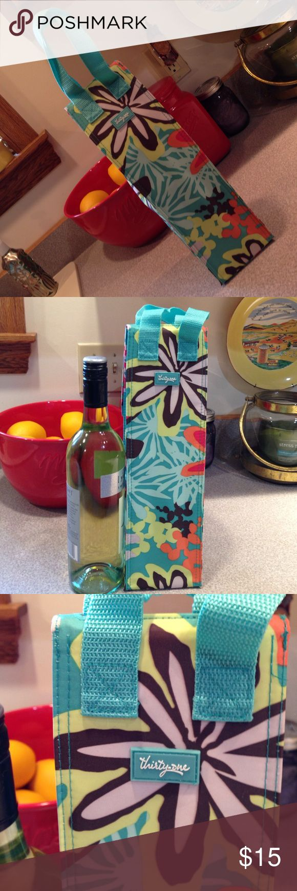 Thirty one wine bottle caddy Brand new Thirty one wine bottle caddy Thirty one Accessories