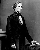 Jefferson Davis, the only President of the Confederate States of America (1861–1865)