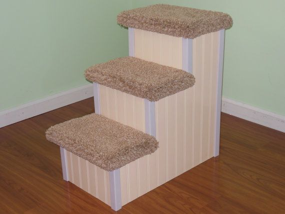 24 inch high 3 tier dog steps for sale. Perfect for older or aging & The 25+ best Pet steps for bed ideas on Pinterest islam-shia.org