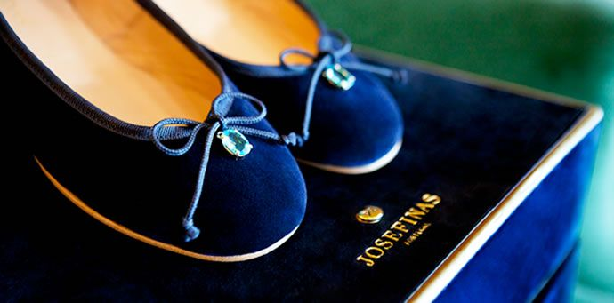 Josefinas are a Portugese brand of ballet flats designed by Filipa Julio. These casual and elegant ballerinas showcase the expert craftsmanship of Portugal