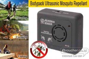 Alat Pengusir Nyamuk Portable Yang Ampuh Mengusir Nyamuk Dimanapun Kamu Pergi Hanya Rp.60,000 - www.evoucher.co.id #Promo #Diskon #Jual  Klik > http://www.evoucher.co.id/deal/Bodypack-Ultrasonic-Mosquito-Repellant  Bodypack Ultrasonic Mosquito Repellant (Aokeman Sensor) adalah salah satu alat pengusir nyamuk portable tanpa colokan listrik yang handal mengusir nyamuk saat anda berkemah, memancing, travelling, hiking atau kegiatan apapun diluar maupun di dalam rumah