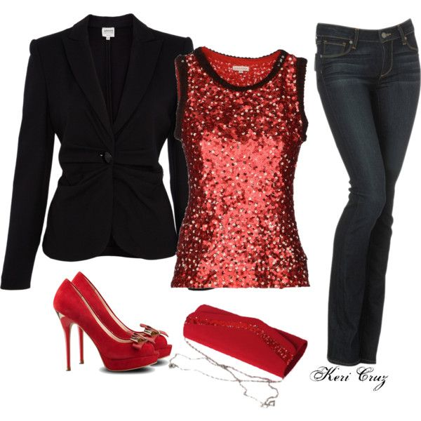 6a9f0cce85f5 Cute Holiday Outift | ❤ Polyvore Creators ❤ | Holiday party outfit, Christmas  party outfits, Holiday outfits