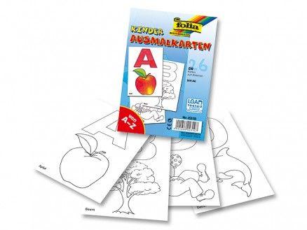 26 Anlautkarten zum Ausmalen Von A wie Apfel bis Z wie Zebra... dieses Produkt beinhaltet stabile Anlautkarten des kompletten Alphabets, die Ihre Schüler selbst ausmalen dürfen.