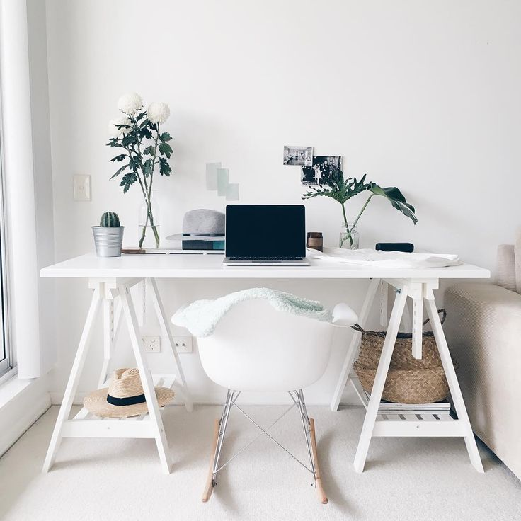 You Can Get It By Making A DIY Computer Desk According To The Ideas Here.  Find This Pin And More On Home Office Inspiration ...
