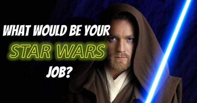The Force is Awakening! Time to gear up and find out what your role in the Galaxy Far, Far Away will be! / Jedi of course