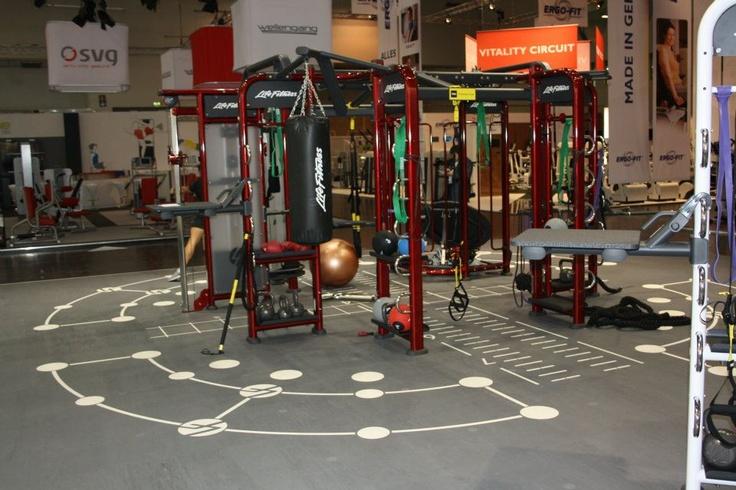 Life Fitness FIBO stand 2012