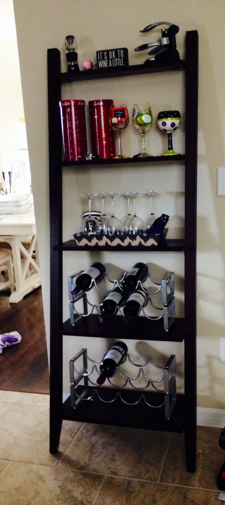 1000 Images About Leaning Shelf Wine Rack Project On