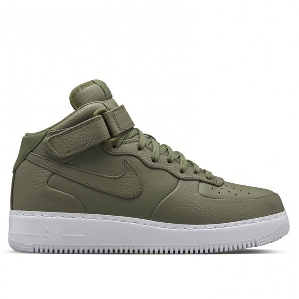 nike air force 1 mid mujer olive