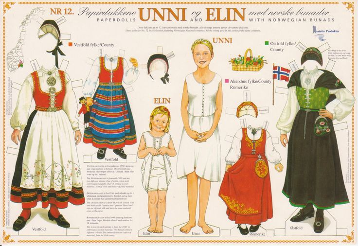 Unni and Elin paper dolls Norway Paper Dolls 003 Published March 5, 2013 at 2532 × 1744 in Norway Paper Dolls 003