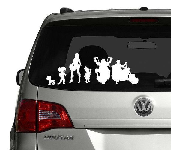Harley motorcycle stick family decal harley davidson of long branch www hdlongbranch com