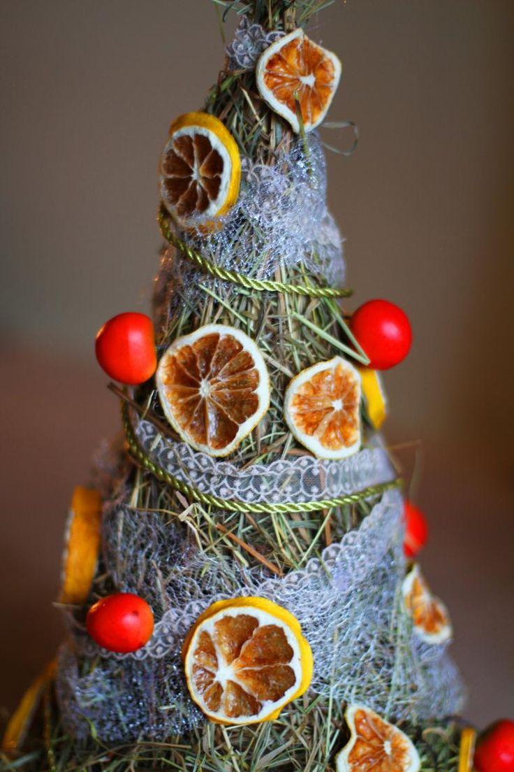 Я ее слепила из того, что было: новогодняя елка своими руками за 1 час - Ярмарка Мастеров - ручная работа, handmade
