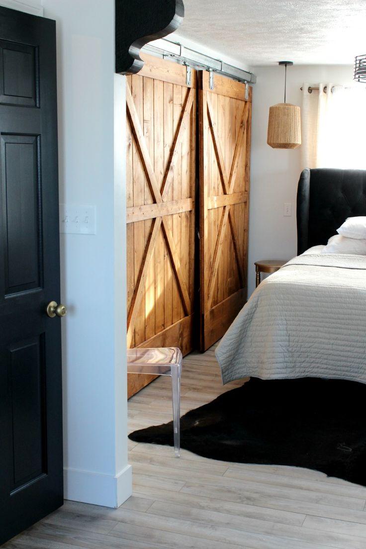master bedroom barn door feather my nest pinterest