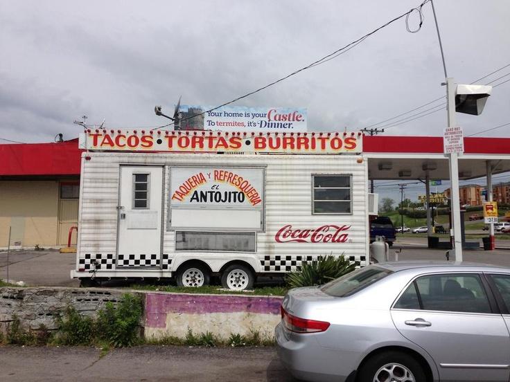 Taqueria El Antojito, Nashville, TN One of the best food