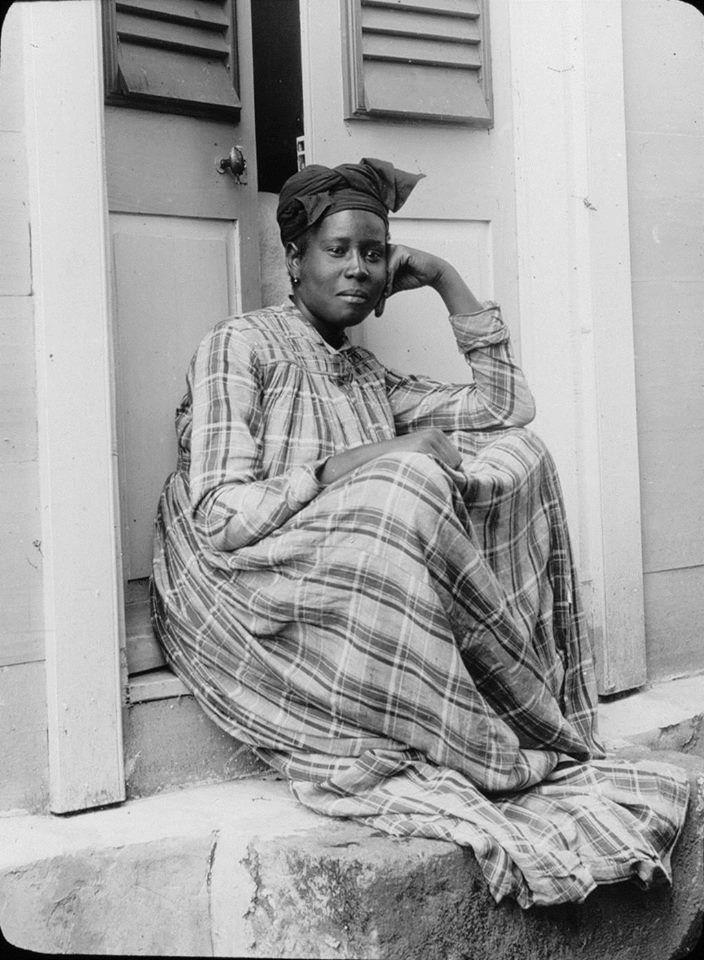André Salles, 'Guadeloupe. Basse-Terre. Coiffure de chaque jour', 1895