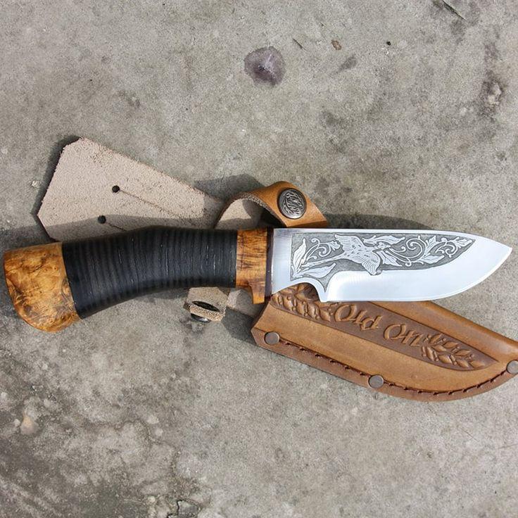 Охотничий нож в подарок Охота на фазана OldOn knife предназначен в подарок…