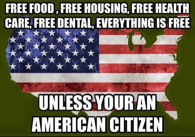 Yep and yet our vets are living on our streets. It's time to take back our country and kick out the political liberal, RINO bums we have in office from the top down