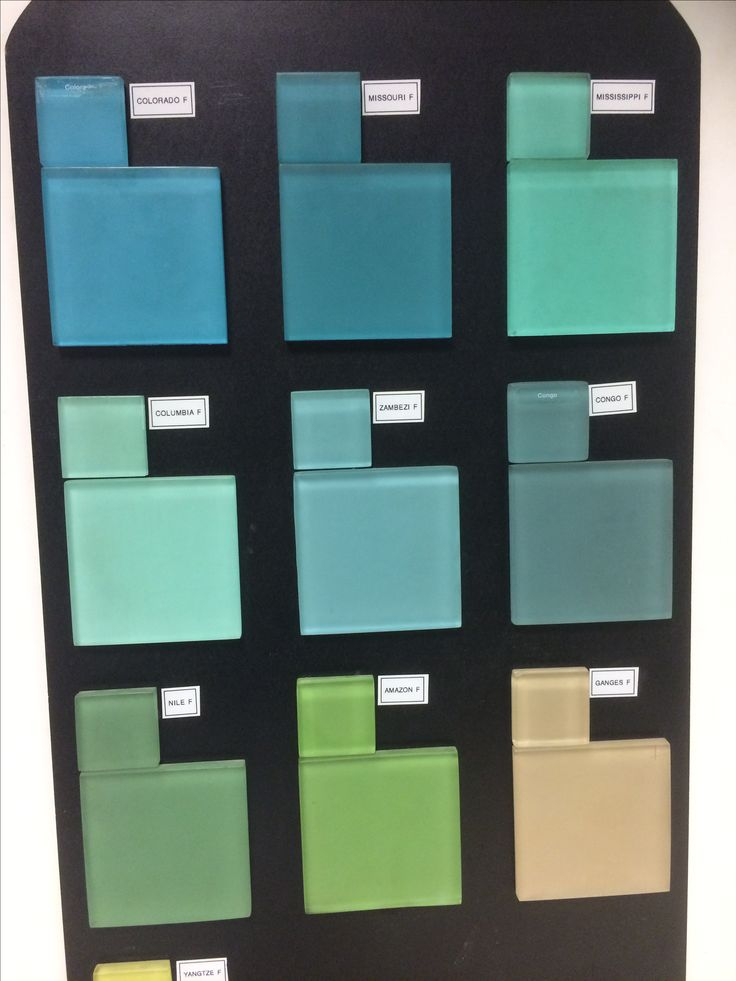 Lovely Opaque Glass Mosaic Tiles