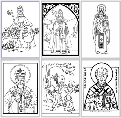 advent coloring pages catholic check out this st nicholas pizza