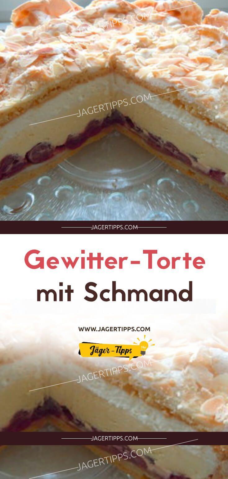 Gewitter-Torte mit Schmand – Apfelrezepte