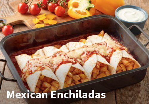 Mexican Enchiladas, Resepti: Knorr #kauppahalli24 #resepti #mexican #enchiladas #verkkoruokakauppa