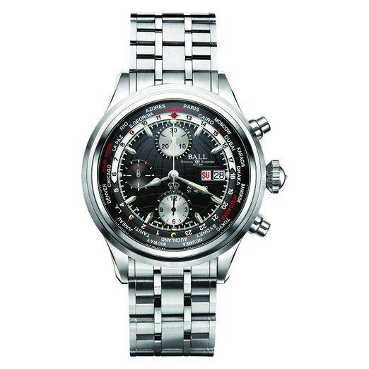 Reloj CM de bolígrafo de punta redonda 2052d - sj-bk