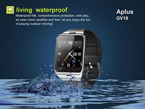 Smart Watch,Putars Bluetooth Smart Watch Phone 1.55″ GSM NFC Camera Wrist Watch SIM Card Smartwatch for Samsung Android Phone (Black) 26.99  #BatteryChangeableSupport #Black #Compatiblephones:CompatibleforAllandroid4.3MobilePhone #ContactSync #HomeScreen:1.5''TFTHDLCD,240X240pixel #IndependentSupport #PedometerSport #ProductWeight #PSG #Putars #SIM:Support2GGlobalStandard #SmartWatch...