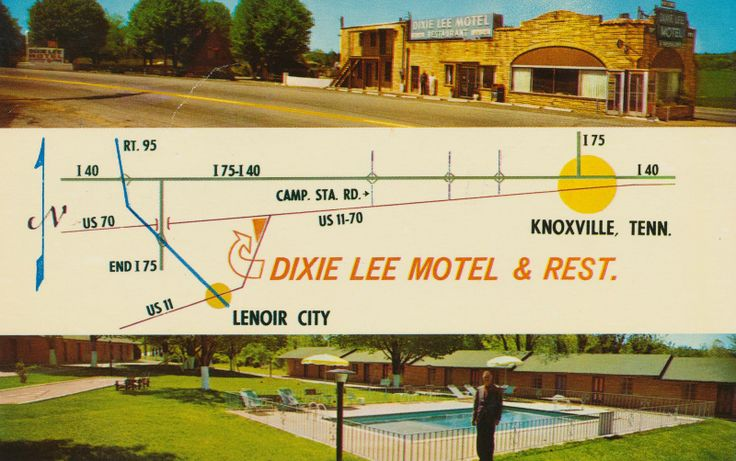 Dixie Lee Motel & Restaurant - Lenoir City, Tennessee | Flickr - Photo Sharing!