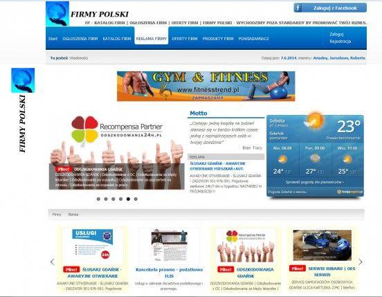 FIRMY POLSKI Gdańsk ogłoszenia YP.pl